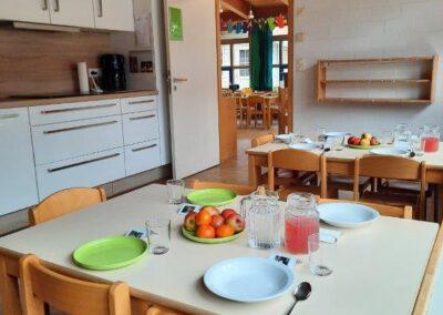 Küche im Kindergarten