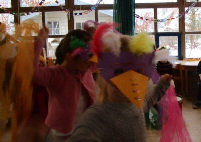 Rabenfest im Kindergartenfasching 2021